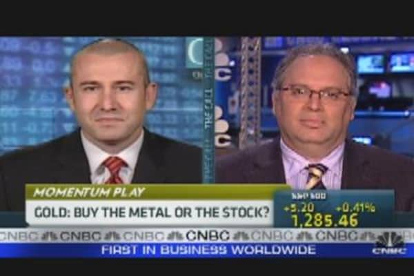 Trading Gold: Metal or Stock?
