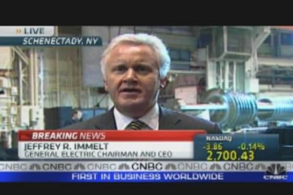 GE CEO Named Jobs Council Chairman