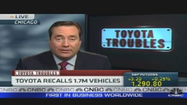 Toyota Recalls 1.7M Cars