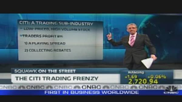 Citi Trading Frenzy