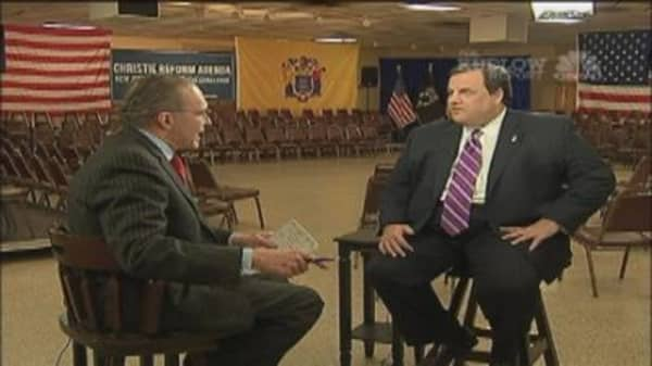 One-on-One with Gov. Christie