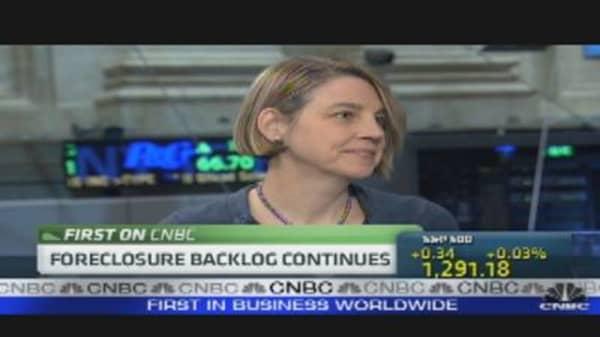 Foreclosure Backlog Continues
