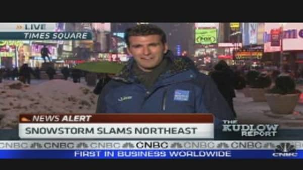Snowstorm Slams Northeast