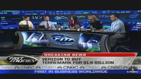 Verizon Jumps in the Clouds