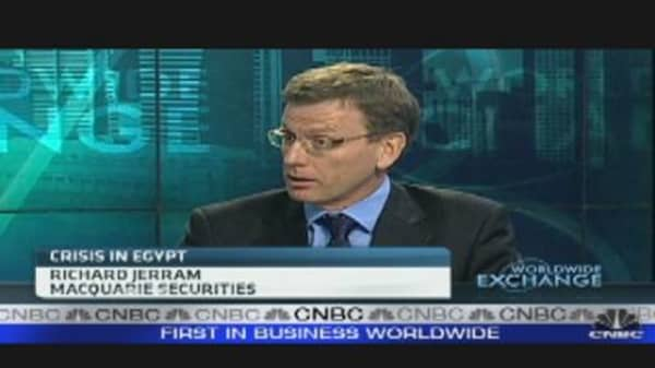 Concerns Egypt Unrest Could Spread
