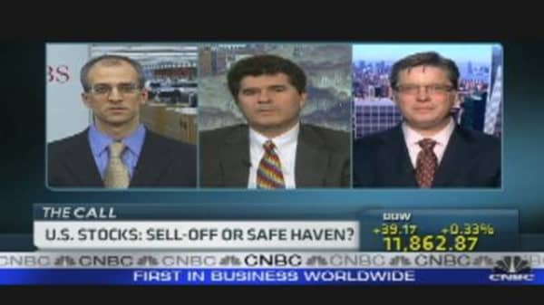 US Stocks: Selloff or Safe Haven?