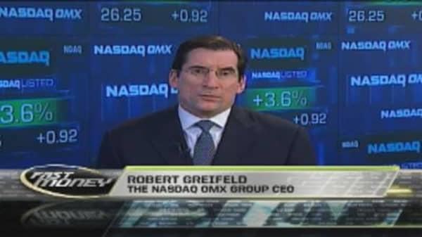 CEO Extra: Robert Greifeld, Nasdaq OMX Group