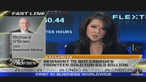 Newmont Mining Announces Canada Deal