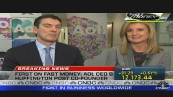 AOL's Armstrong & Arianna