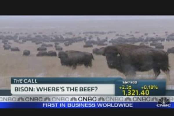 Bison Prices Soaring