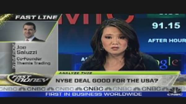 NYSE Deal Good for America?