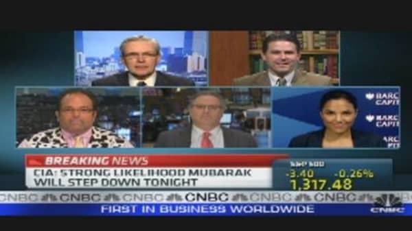 Mubarak & the Markets
