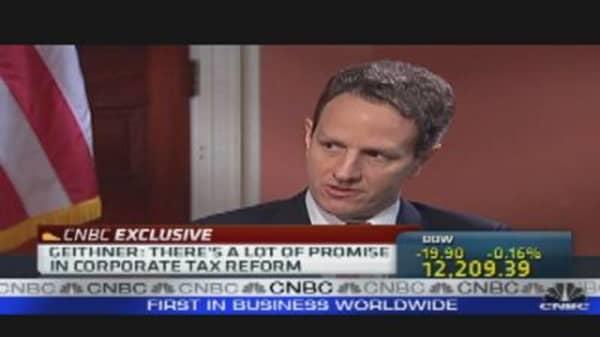 Geithner Speaks Out