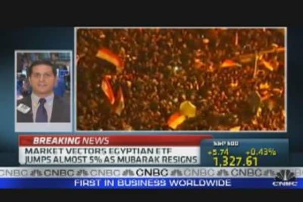 Mubarak and the Markets