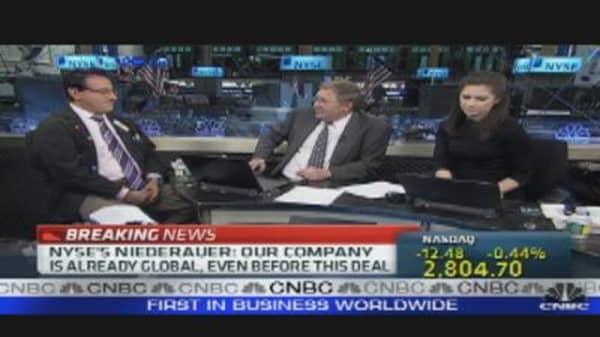 NYSE & Deutsche Boerse Merging