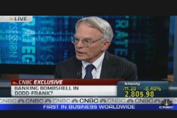 Banking Bombshell in Dodd-Frank?