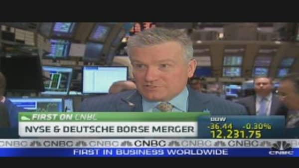 NYSE & Deutsche Boerse Merger