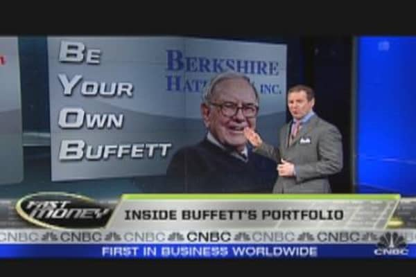 Be Your Own Buffett
