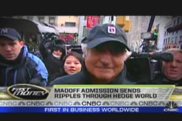 Madoff's Admission Ripples