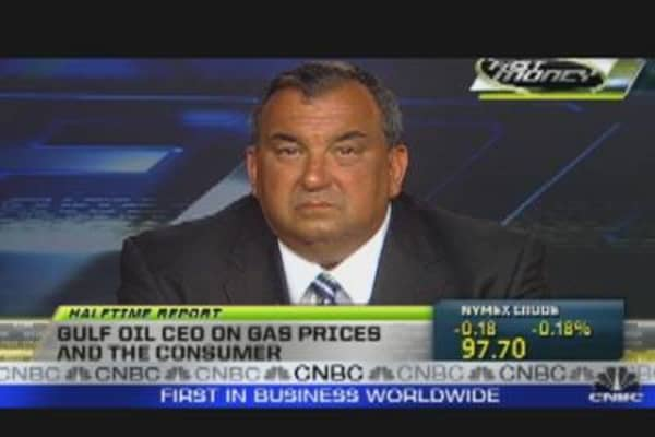 Gulf Oil CEO on Gas Prices