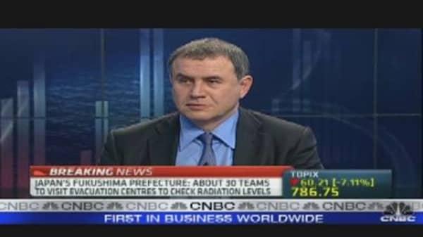 Roubini on Japan and the Yen
