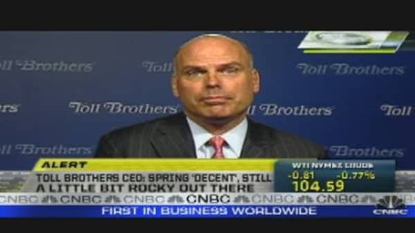 Call to the Floor: Toll Brothers CEO