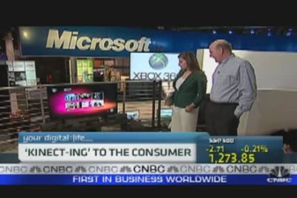 Microsoft's Ballmer on Kinect & More