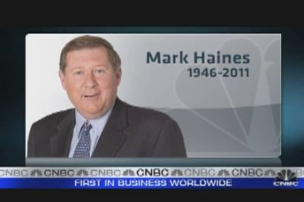 CNBC's Mark Haines Passes Away, Age 65
