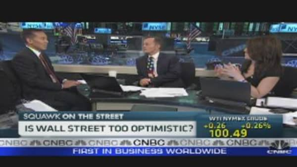 Wall Street Too Optimistic?