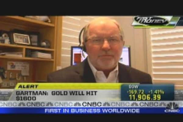 Gartman: Gold Will Hit $1600