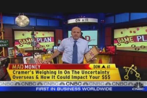 Cramer's Take on Market Whipsaw