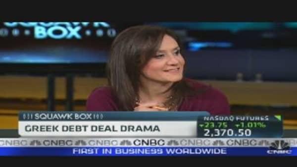 Negotiations to Reduce Greek Debt