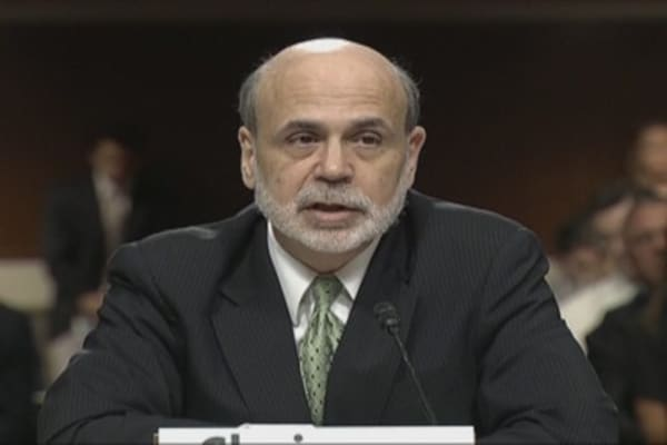 Bernanke Warns of Possible Fiscal Crisis