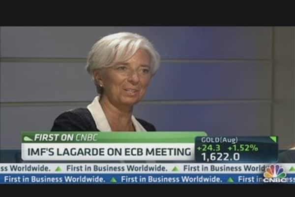 Lagarde: The ECB Has Helped