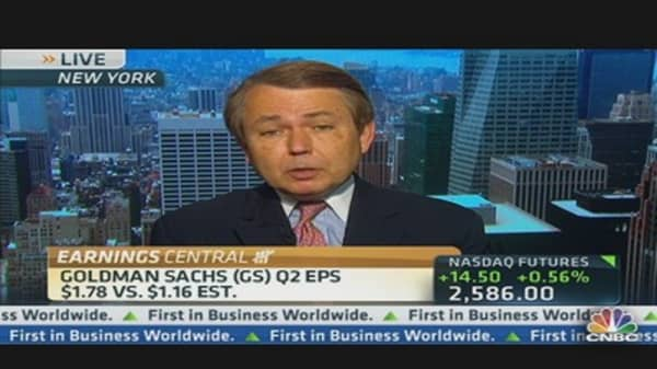 Analyst: 'It's Tough to Make Short-Term Bet on Goldman'