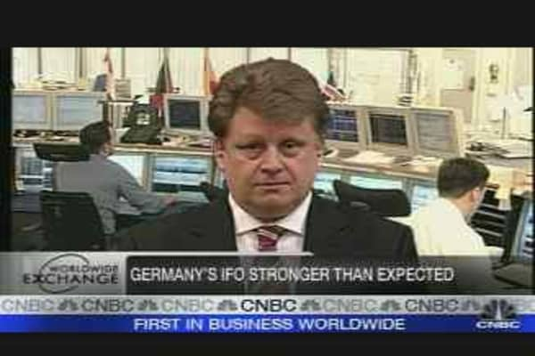 German Business Mood Improves?