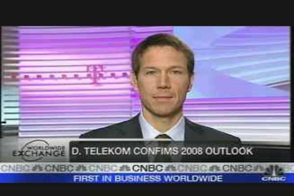 Deutsche Telekom Seeks Overseas Growth