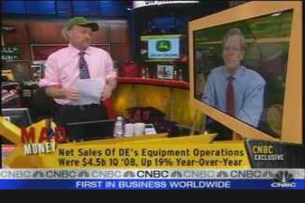 Deere CEO Talks Ag