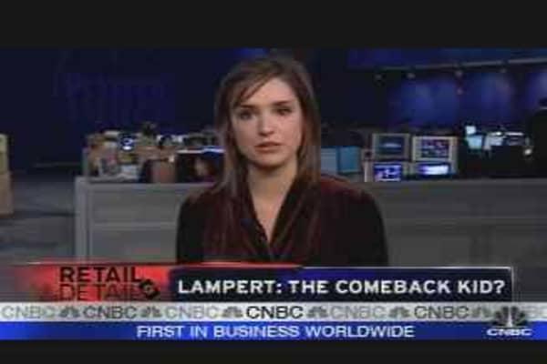 Lampert: The Comeback Kid?