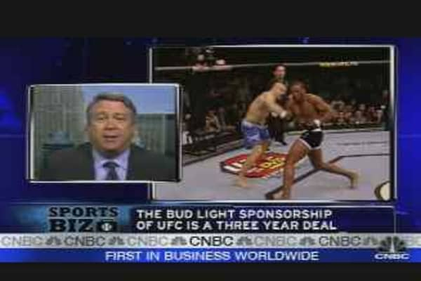 Bud Takes a Chance on Ultimate Fighting