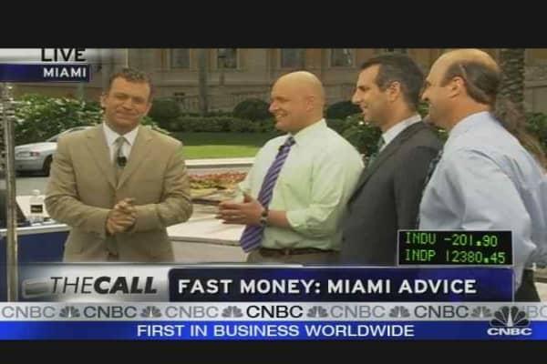 Fast Money: Miami Advice