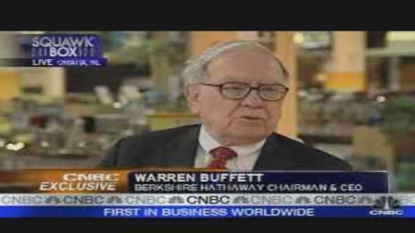 Warren Buffett on the Economy