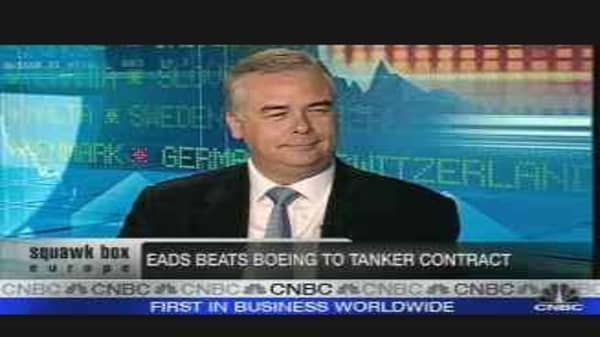 EADS Wins US Tanker Contract