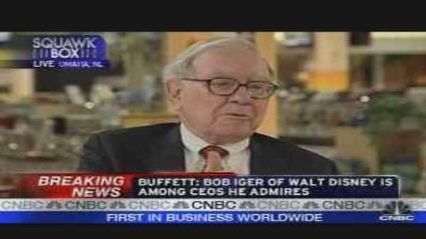 Buffett Answers Viewers