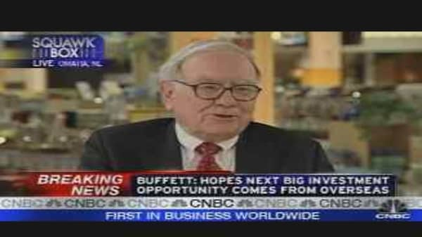 Betting on Buffett