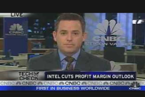 Intel Cuts Profit Margin