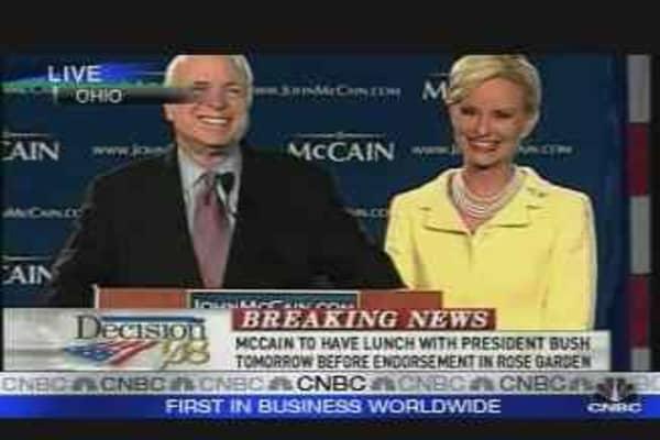John McCain's Victory Speech