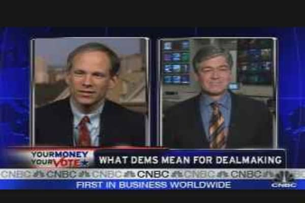 What Dems Mean for Dealmaking