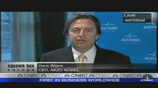 Akzo Nobel CEO Positive on ICI Integration