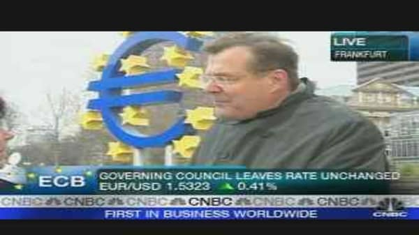 ECB Holds Rates at 4%